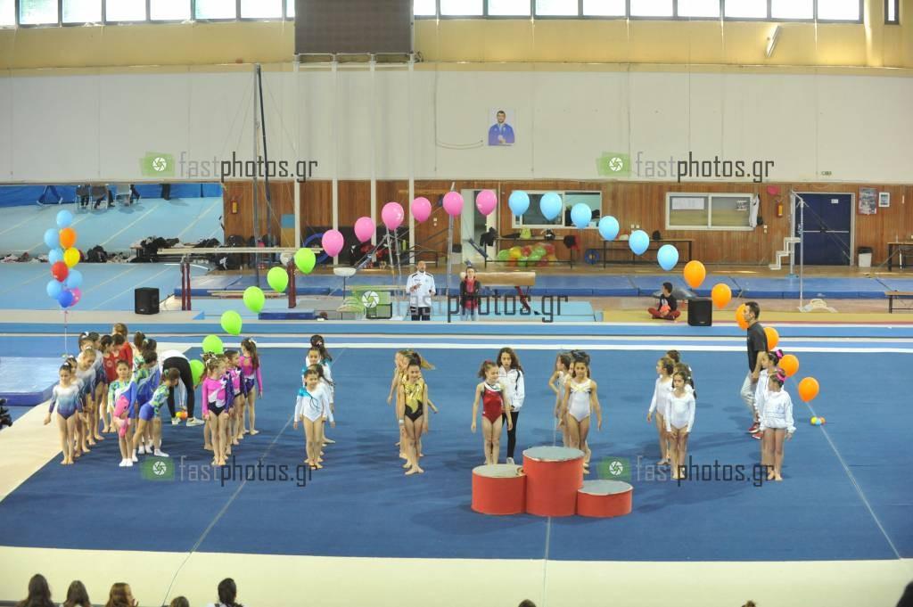 Φωτογραφία ΑΠΟΝΟΜΕΣ  8o Κύπελλο Ενόργανης Γυμναστικής ''Αίας Θερμαϊκού''