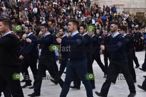 Φωτογραφία Παρέλαση 25ης Μαρτίου 2016 στην Πλατεία Μιαούλη στη Σύρο