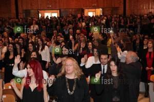 Φωτογραφία Όρκος & Πορτρέτα & Πτυχία - Ορκωμοσία Κοινωνικής Διοίκησης Δ.Π.Θ. 25-11-2015