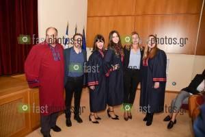 Φωτογραφία Ορκωμοσία 1-11-2019 μεταπτυχιακών φοιτητών ΠΜΣ Πανεπιστημίου Δυτικής Αττικής